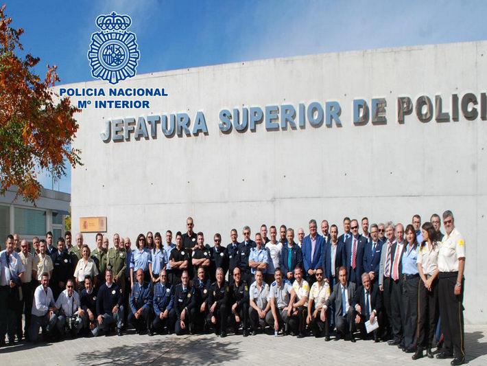 La Policía Nacional imparte unas Jornadas  Integrales a los vigilantes de seguridad privada