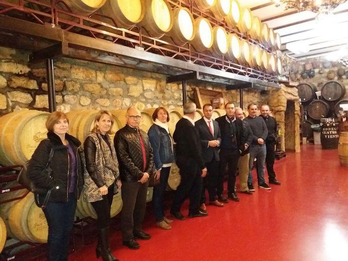 La Junta apoya con unos 600.000 euros en ayudas la mejora del proyecto vitivinícola de la Finca Cuatro Vientos en Murtas