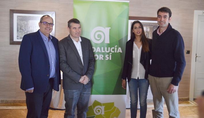 Andalucía Por Sí apoya la reivindicación contra el aislamiento ferroviario de Granada
