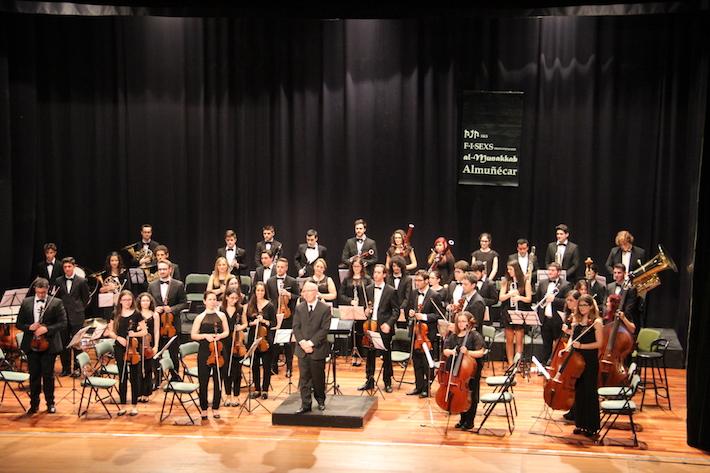 Almuñécar acoge el domingo  el  Concierto Sinfónico de Primavera con la Joven Orquesta del Sur de España