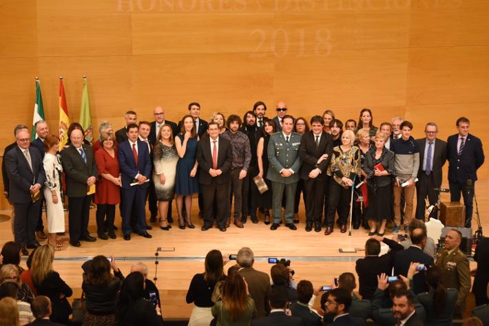 Diputación entrega los Honores y Distinciones, entre ellos al motrileño Juan Carlos Garvayo como Hijo Predilecto de la provincia