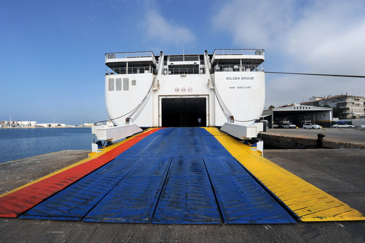 El nuevo buque Golden Bridge conecta desde junio los puertos de Melilla y Motril en 5 horas.
