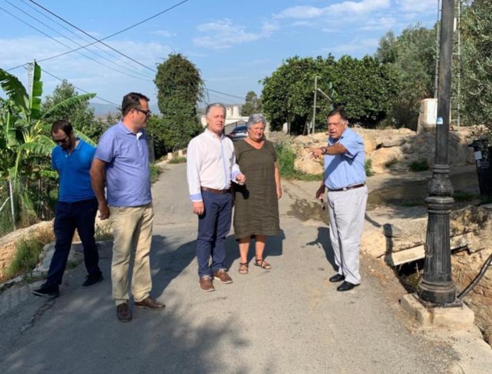 Comienzan las obras de mejora de la carretera que unirá Órgiva con su anejo de Tíjola