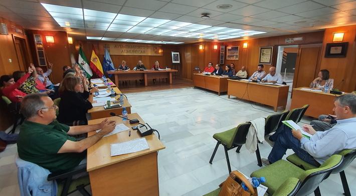 El Pleno pide la paralización del proyecto de traslado de los vertidos de Jete, Otívar y Lentegí a la EDAR de Almuñécar hasta conocer la viabilidad de la de Jete.