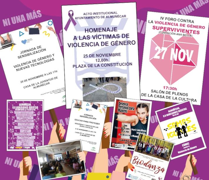 El Centro de la Mujer inaugura una exposición de Cómic y Violencia de Género en el IES de La Herradura