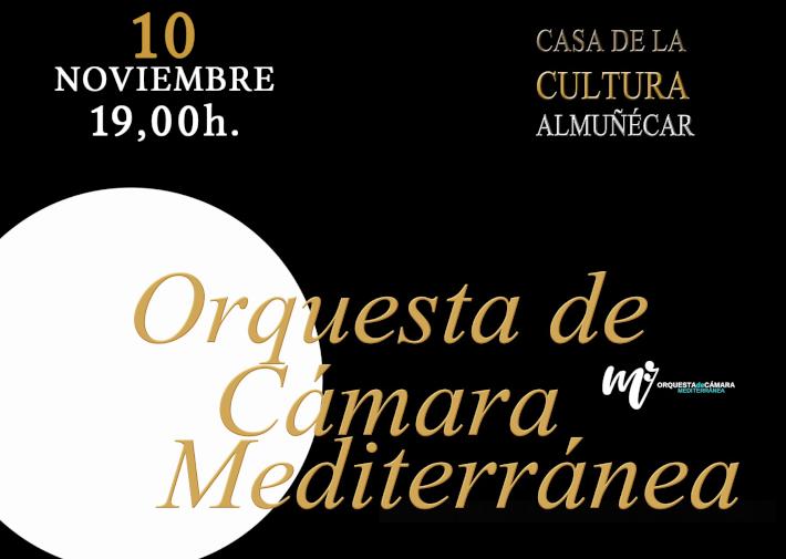 La Orquesta de Cámara Mediterránea abre temporada este domingo en Almuñécar