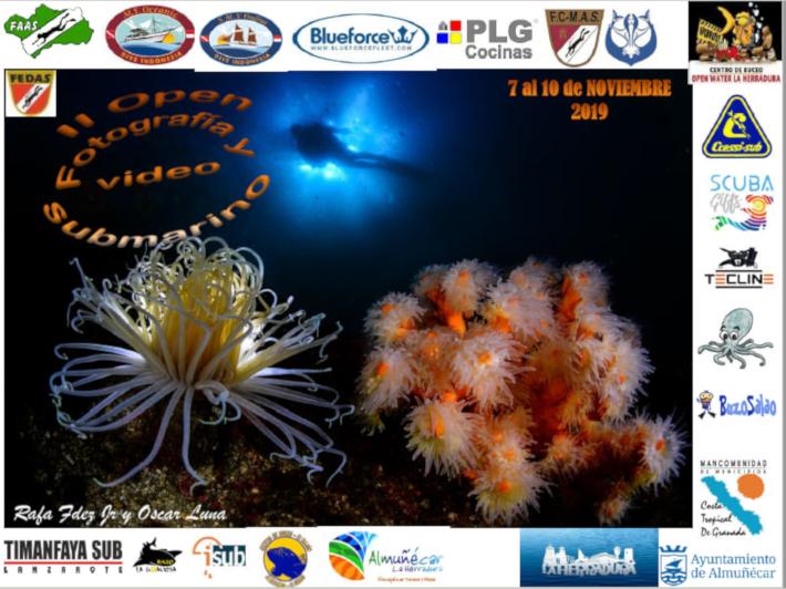 Este jueves arranca el II Open de Fotografía y Vídeo Submarino  de Bahía de La Herradura 2019
