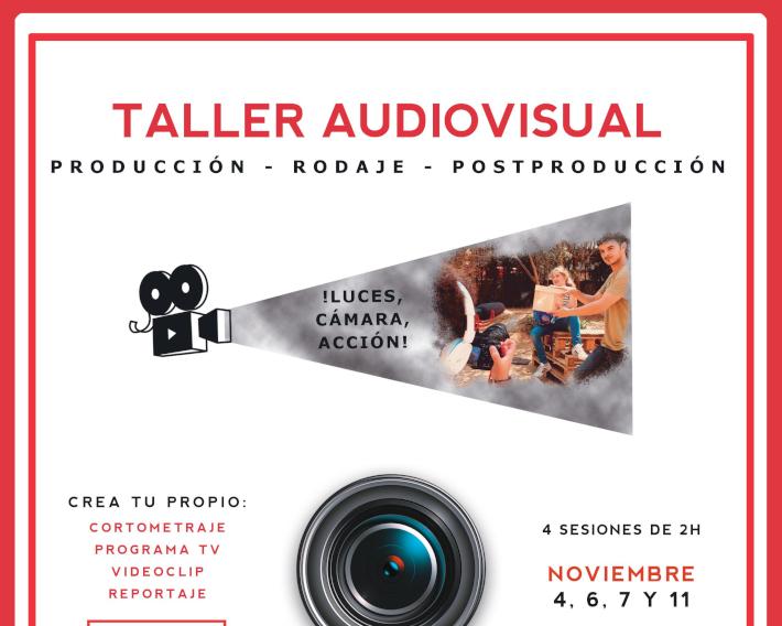 La Casa de la Juventud de Almuñécar acoge esta semana un Taller Audiovisual