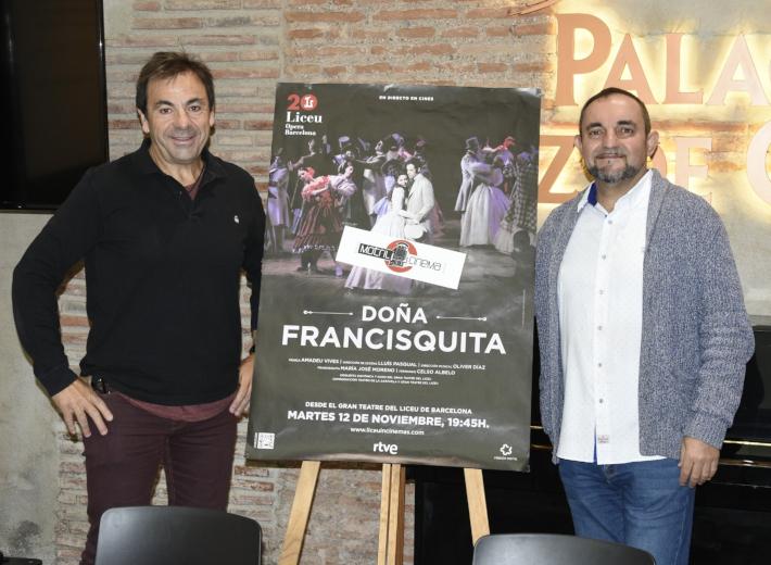 """""""Doña Francisquita"""" llega a Motril en directo desde el Liceo de Barcelona"""