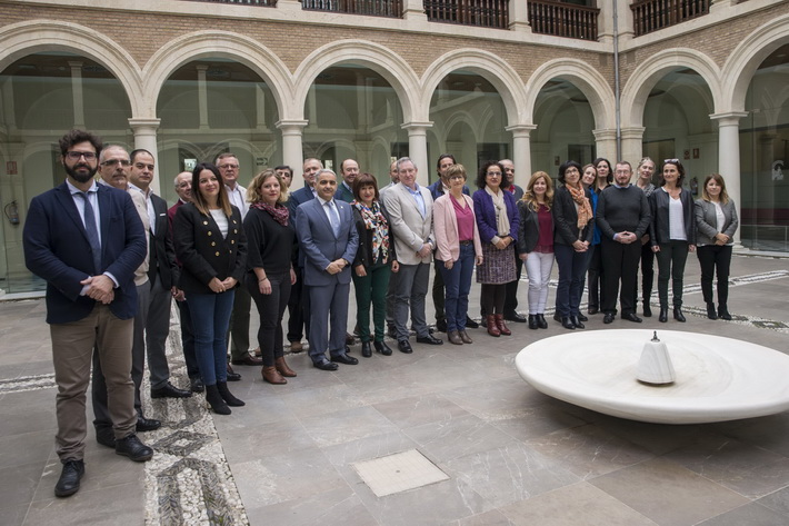 Una delegación francesa se interesa por los programas contra el abandono escolar y de integración del alumnado inmigrante