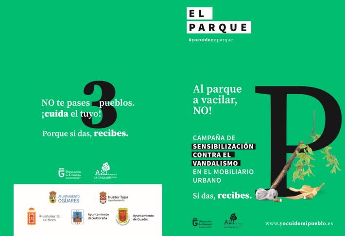Llega a Salobreña la campaña de concienciación contra el vandalismo 'Yo cuido mi pueblo'