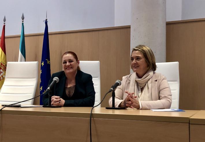 La alcaldesa participa en un encuentro para analizar la situación del Delta del Guadalfeo y su recuperación