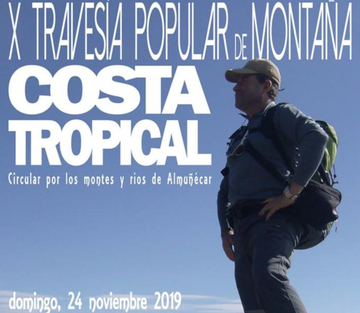 Este domingo se celebra en Almuñécar la X Travesía Popular de Montaña Costa Tropical