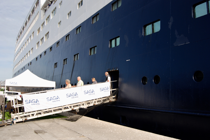 Motril es uno de los tres puertos españoles de escala del Saga Sapphire en su actual recorrido por el Mediterráneo y el Atlántico