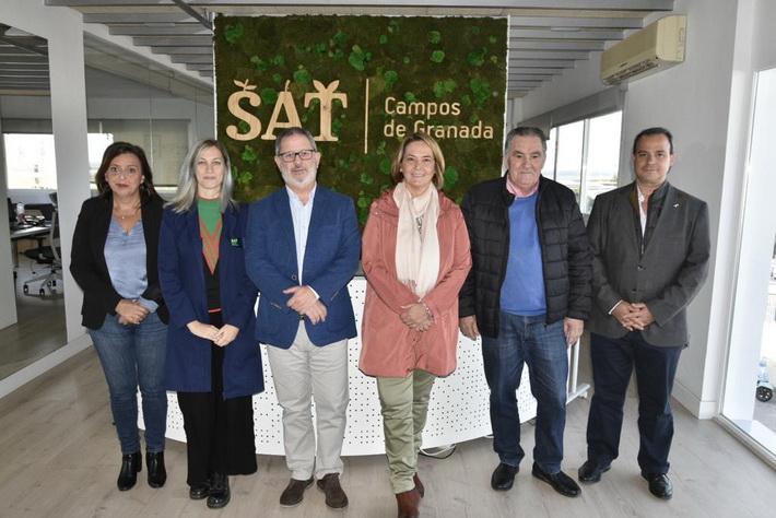 """La alcaldesa de Motril alaba la capacidad de adaptación de las sociedades agrarias de la Comarca a """"los nuevos tiempos"""""""