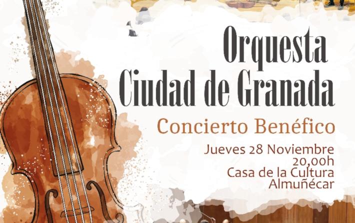 La Orquesta Ciudad de Granada ofrece hoy  jueves un concierto en Almuñécar