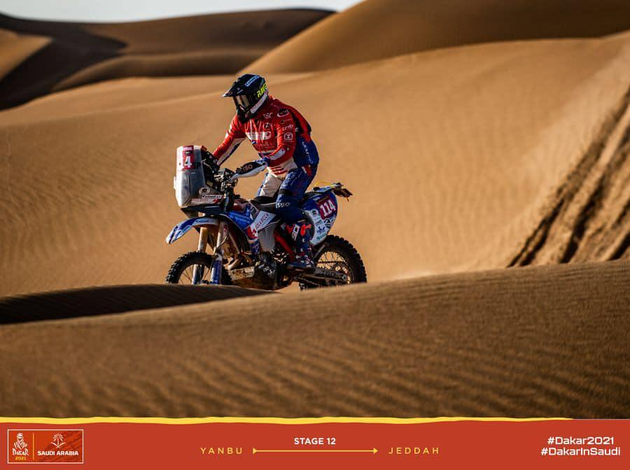 Los sueños se cumplen y Yayo Carbonell Méndez ha finalizado su primer Dakar con nota.