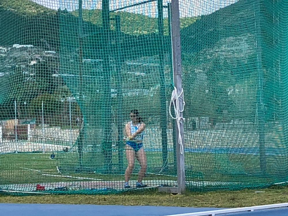 Podiums y medallas para los atletas motrileños en el Campeonato de Andalucía de Lanzamientos Largos Sub16