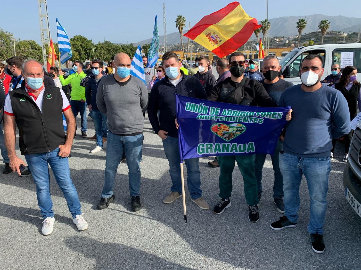 El PSOE de Carchuna, Calahonda y Motril apoya las movilizaciones convocadas por agricultores, transportistas y autónomos