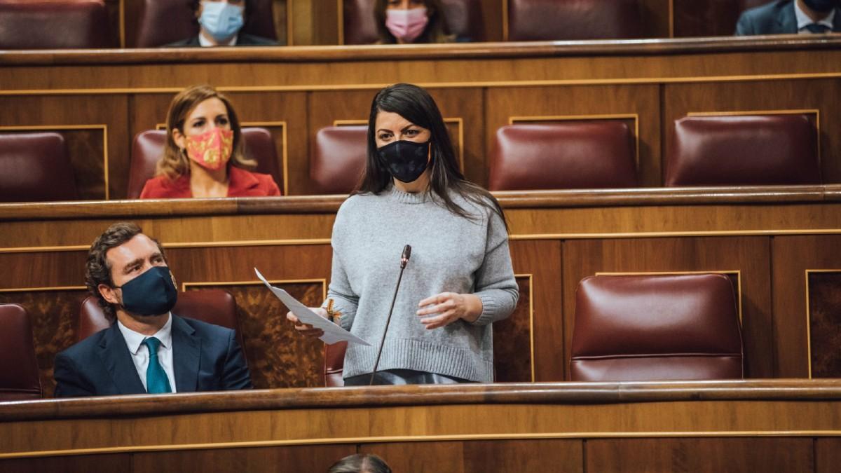 Macarena Olona: 'Teodoro García Egea miente a los granadinos'