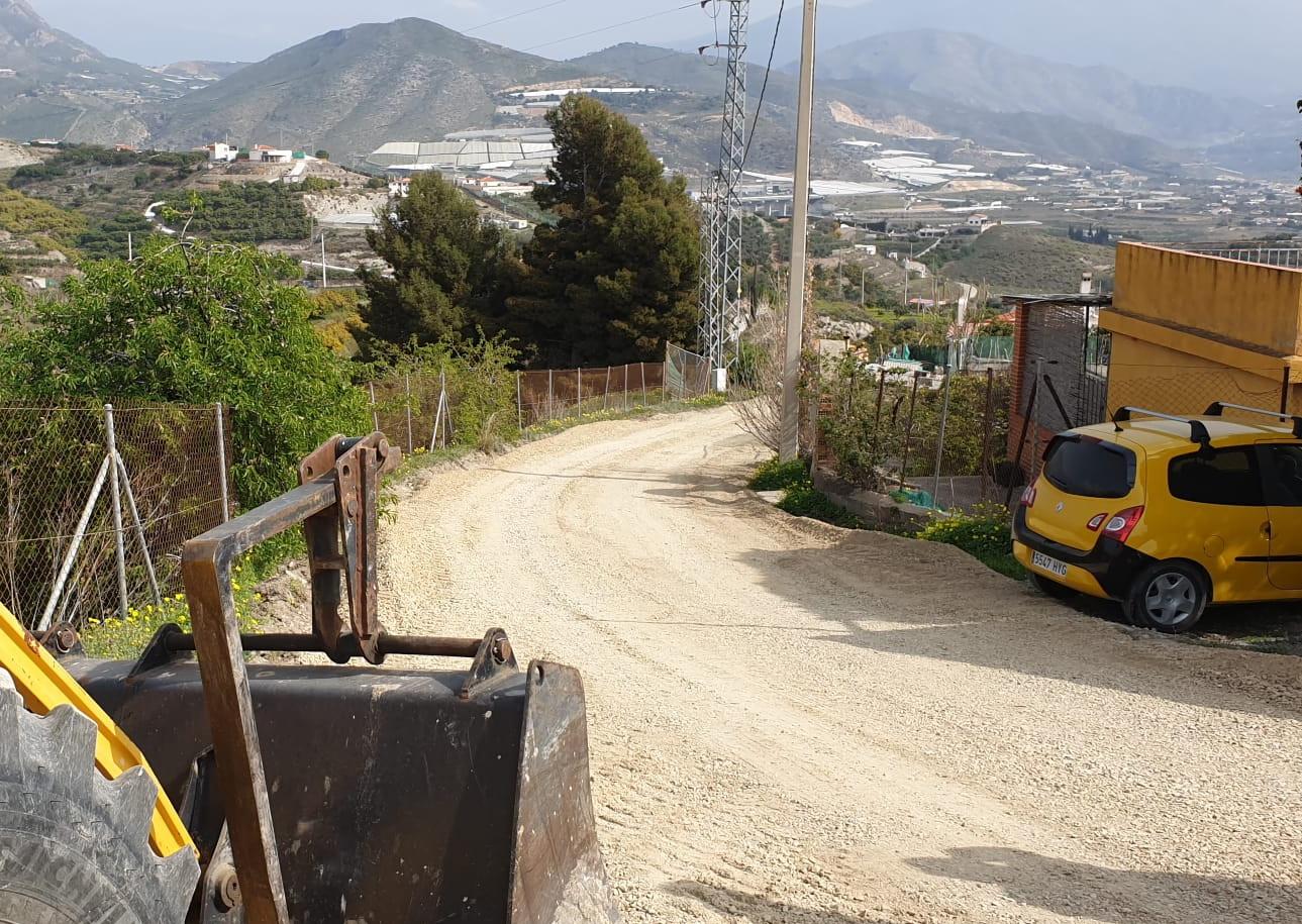 """Comienza en Salobreña el arreglo del camino rural """"Cañada Genaro"""""""