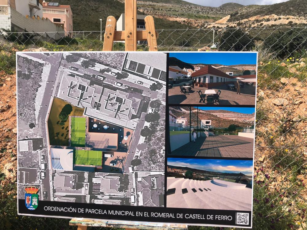 El barrio de El Romeral de Gualchos-Castell sometido a una remodelación para dotarlo de nuevos servicios