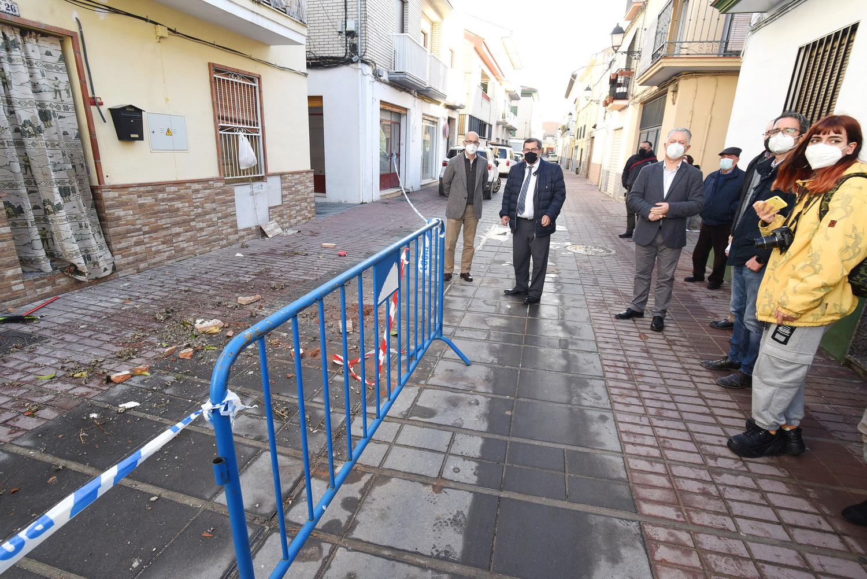 Diputación ha inspeccionado más de 220 inmuebles en cuatro municipios granadinos tras los terremotos de enero y febrero