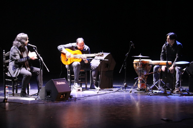 'El Turry  y familia' llenó de cante y público la Casa de la Cultura de Almuñécar
