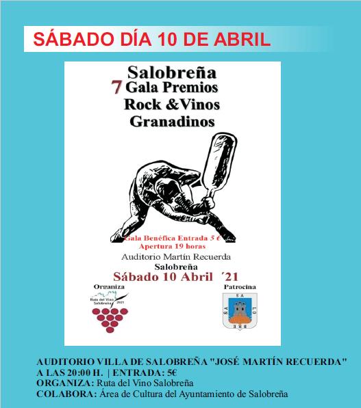 Se presenta en Salobreña la VII Gala Rock &Vino granadinos