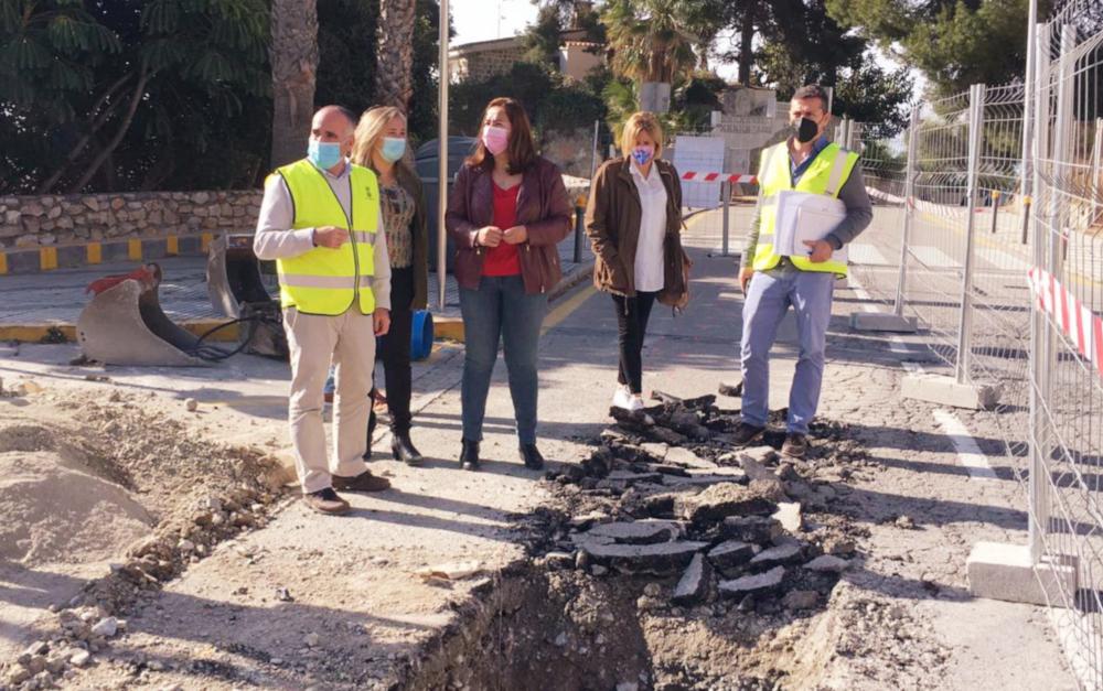La Mancomunidad renueva las redes en la zona de Playa de Velilla, cuesta del Tesorillo y Rambla Caballero
