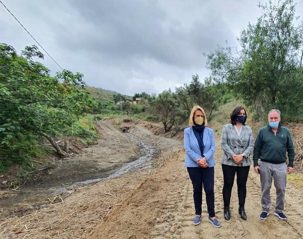 Los cerros de Panata devuelven a la luz su rambla y el primitivo e histórico camino de Motril a Granada