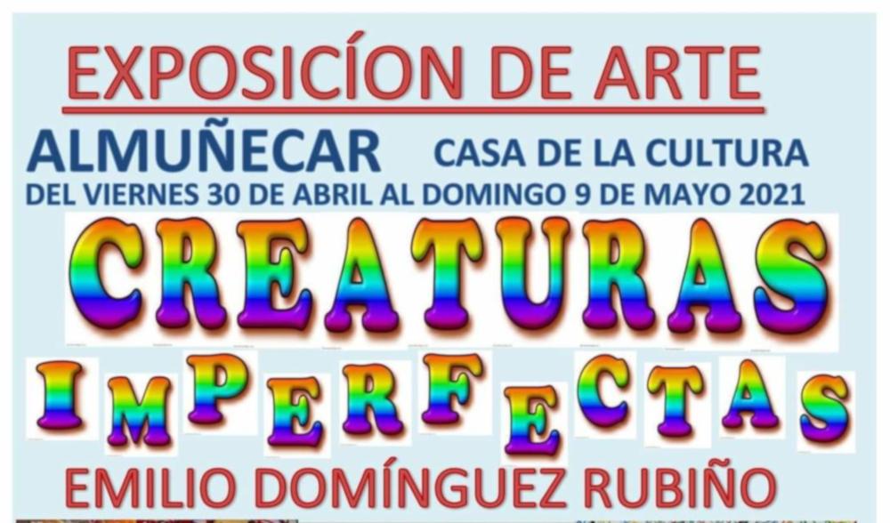 El motrileño Emilio Domínguez Rubiño expone en la Casa de la Cultura de Almuñécar hasta el 10 de mayo