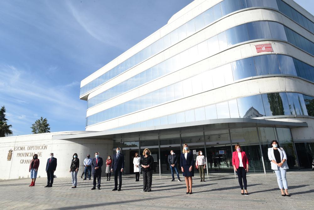 El nuevo delegado del Gobierno en Andalucía visita la diputación provincial