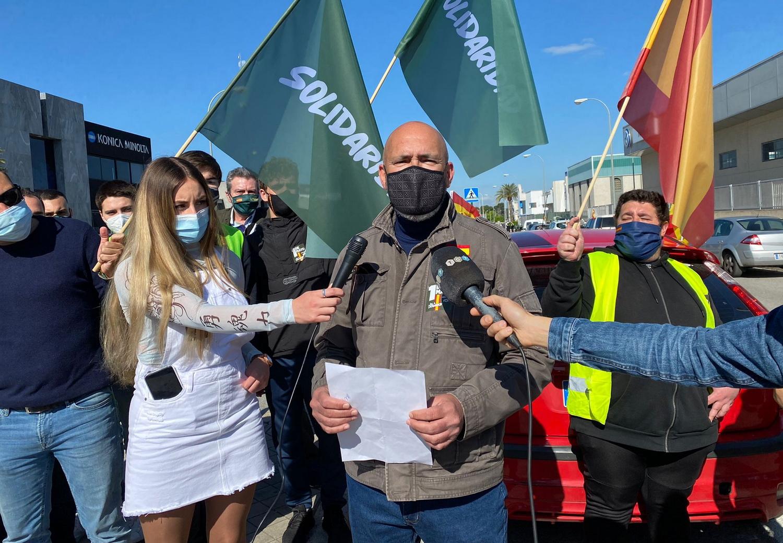 VOX Granada califica de 'éxito' la concentración con el sindicato 'Solidaridad' el 1 de mayo
