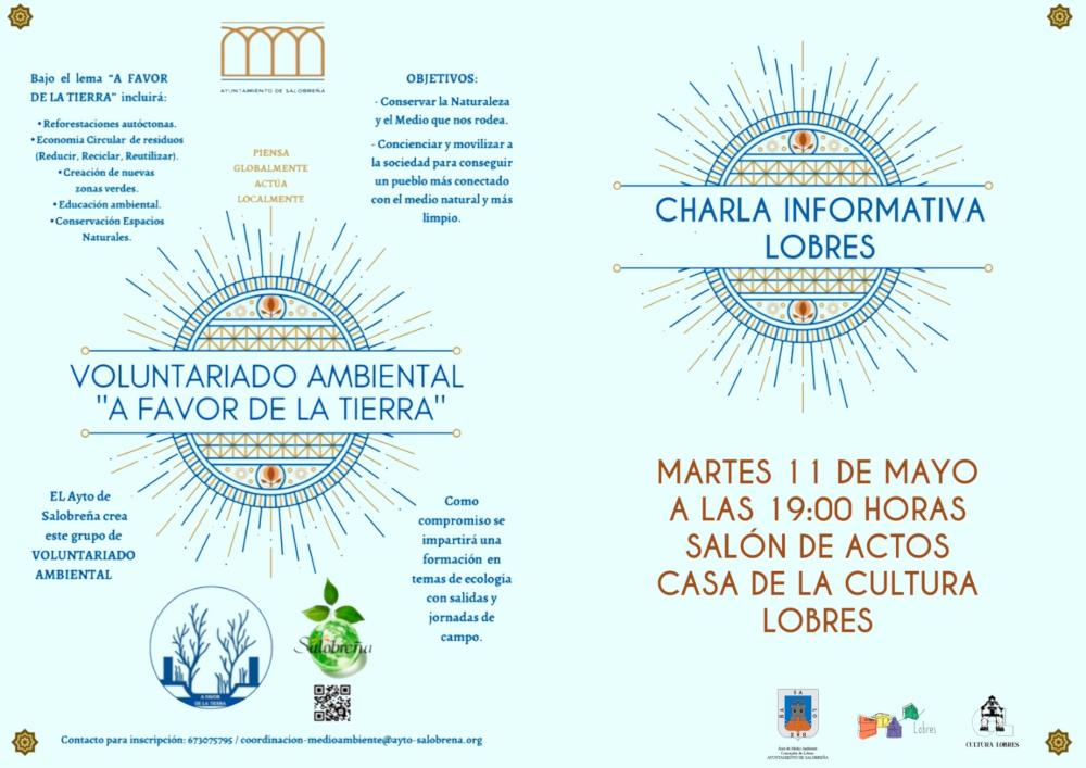 El grupo de voluntariado ambiental ofrece una charla informativa en Lobres
