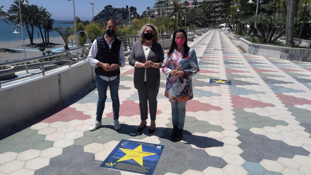 """Almuñécar se suma a la celebración de la Semana Europea de Granada con el """"Paseo de los proyectos estrella con Europa"""""""