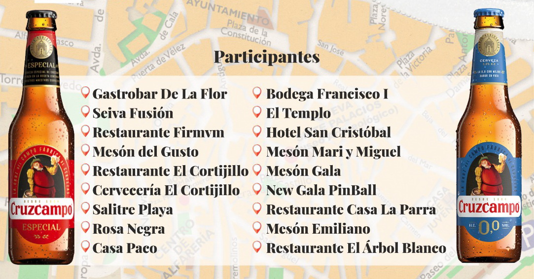 Comienza la primera fase de la VII Ruta de la Tapa de Almuñécar, que se celebrará del 21 de mayo al 5 de junio.