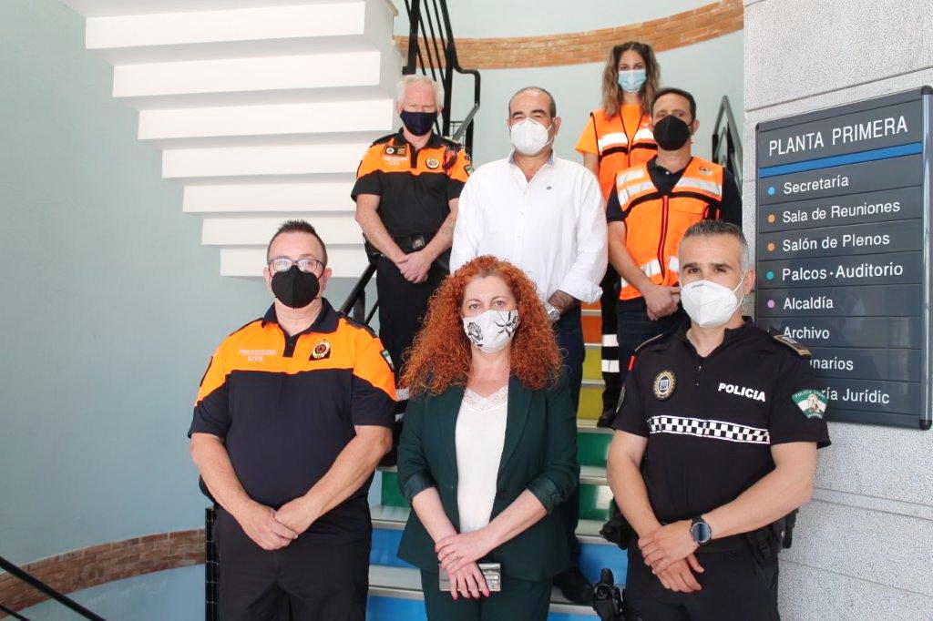 Se presenta de forma oficial de la nueva Agrupación de voluntariado de Protección Civil de Salobreña