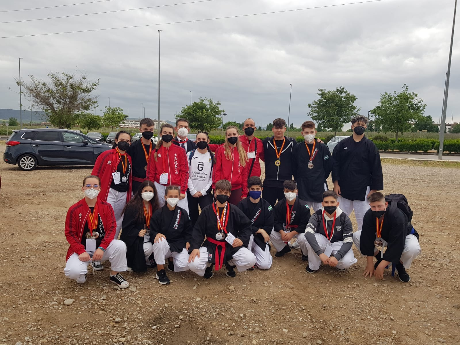 Oros, platas y bronces para los kempokas motrileños en el  Campeonato de España de Clubes.