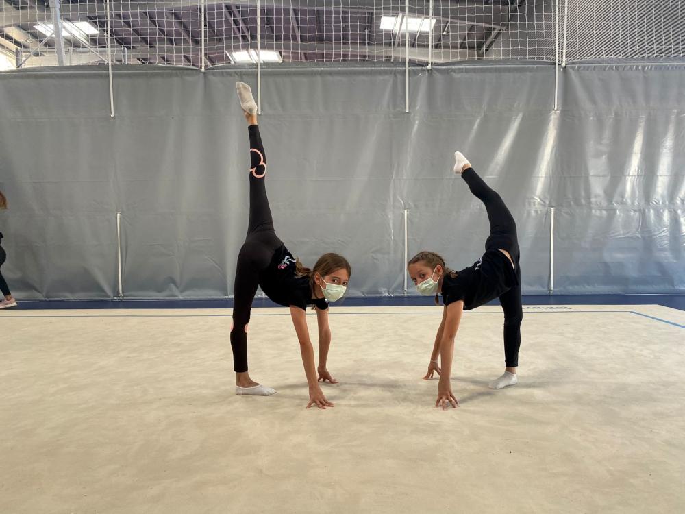La gimnasia rítmica motrileña de nuevo al tapiz de competición este fin de semana