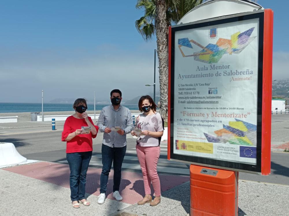 El Ayuntamiento de Salobreña pone en marcha una campaña de difusión del Aula Mentor
