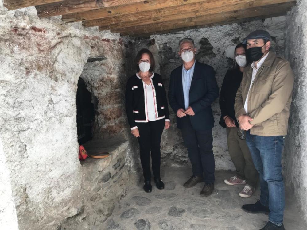 El programa de conservación y patrimonio de Diputación permite recuperar el antiguo aljibe de Nigüelas