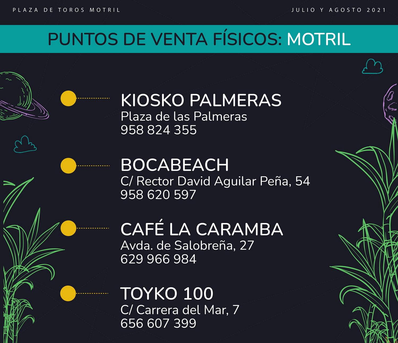 Motril en Vivo confirma nuevos puntos de venta físicos