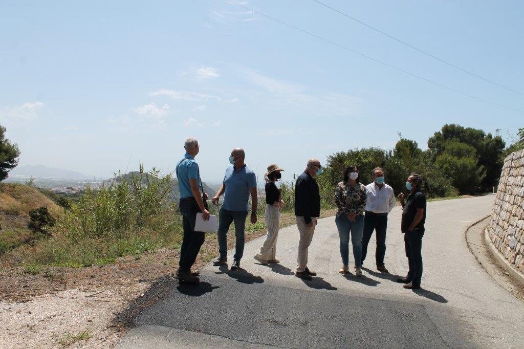 Finalizan los trabajos de mejora de asfaltado de la Cota 100 en Salobreña