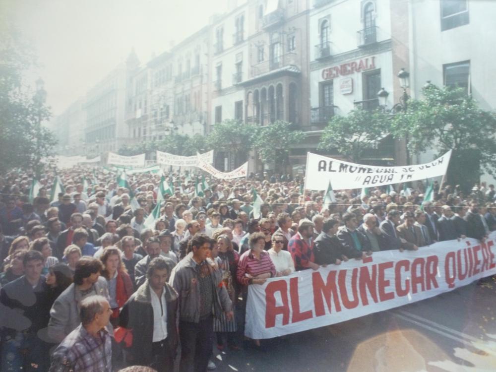 Convergencia Andaluza propone trasladar a Sevilla las protestas por el 'Agua para el Almuñécar'