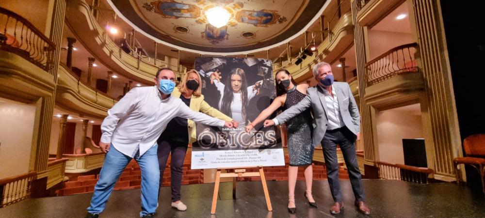 El espectáculo 'Óbices' de la bailaora motrileña Sara Sánchez llenará de magia la noche del 3 de julio