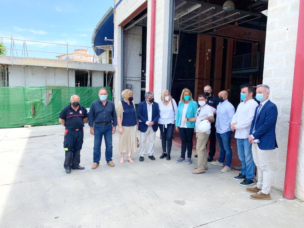 El Consorcio Provincial de Bomberos ampliará el Parque de Motril para incorporar un centro de emergencias.