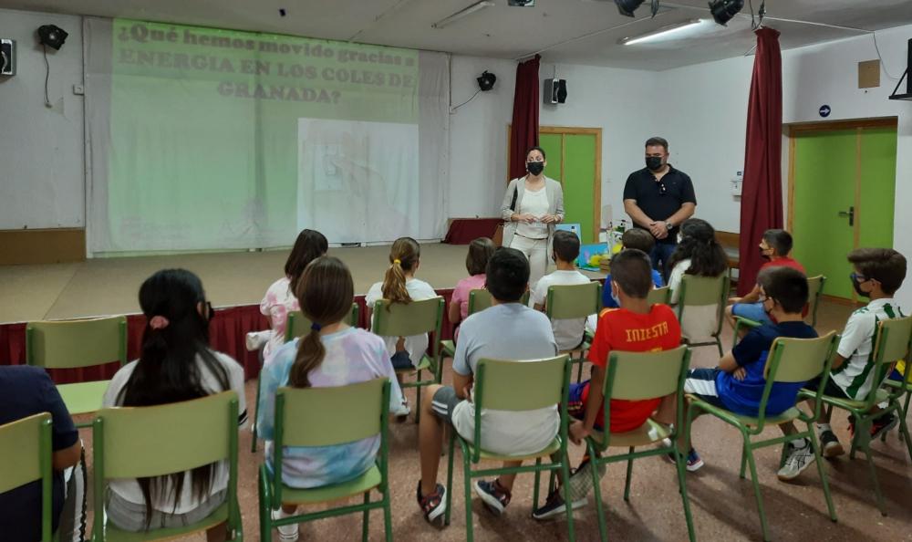 """Una decena de colegios de la provincia celebran los resultados obtenidos en el programa """"Energía en los Coles de Granada"""""""