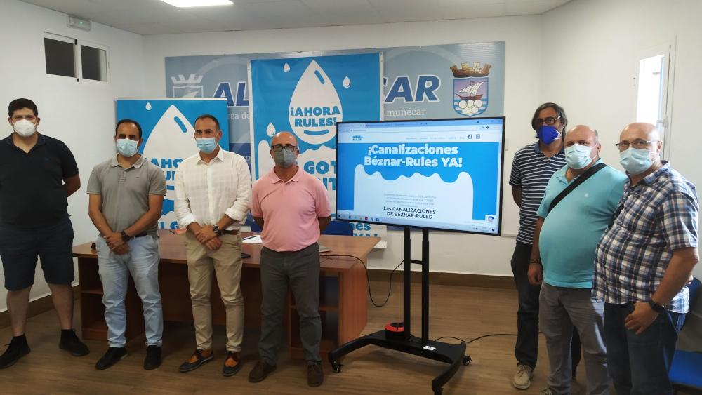 Almuñécar presenta una web de la campaña 'Tu gota cuenta' para apoyar las reivindicaciones de las canalizaciones Béznar-Rules