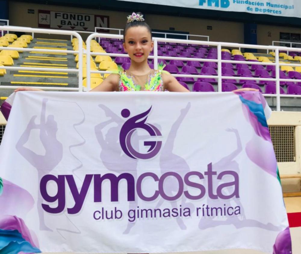 La gimnasta alevín de Almuñécar Eira Sánchez López destaca en el Campeonato de España celebrado en Valladolid